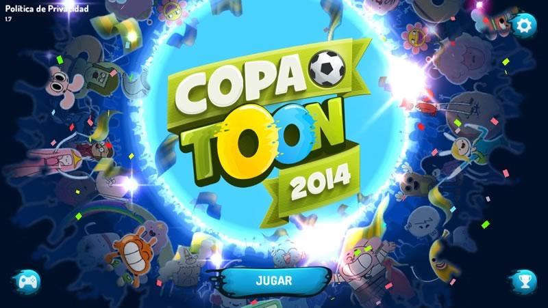 Copa Toon para iPhone y iPad, un divertido juego de futbol multijugador - copa-toon-para-iphone