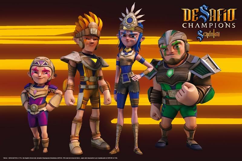 Maratón de Sendokai Champions este Domingo en Cartoon Network - desafio-champions-sendokai