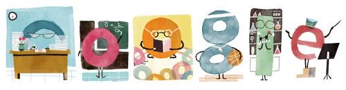 Día del maestro en México, Doodle de Google y unas infografías para conocer más de este día - doodle-dia-del-maestro-mexico-2014