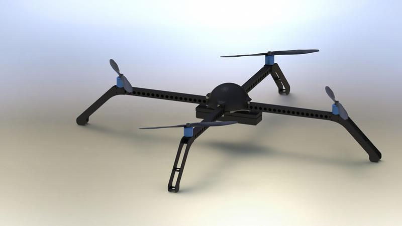 Diseñan un nuevo sistema de vuelo automatizado para drones en México - drones-mexico
