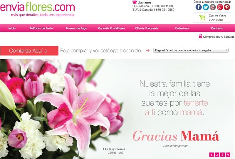 Enviar flores por internet este día de las madres es fácil y seguro. Aquí te decimos cómo - enviar-flores-por-internet-enviaflores