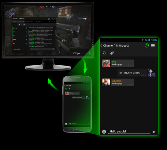 Razer Comms ya está disponible para Android - in-game-overlay-mobile-chat