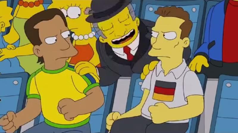 los simpsons en el mundial brasil 2014 Los Simpsons en el Mundial de Brasil 2014 ¡No te lo pierdas!
