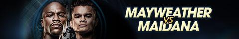 Mayweather vs Maidana en vivo por internet desde Las Vegas - mayweather-vs-maidana