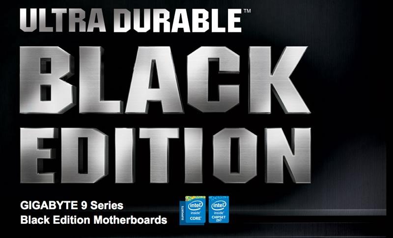 GIGABYTE presenta su linea de motherboards Serie 9 Z97 y H97 - motherboards-gigabyte-black-edition-serie-9