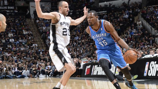Playoffs NBA en vivo: Thunder vs Spurs [Juego 4] - playoffs-nba