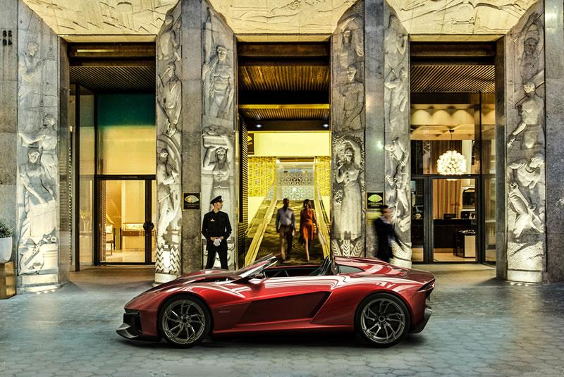 rezvani BEAST hotel copy Rezvani BEAST, el auto deportivo con piezas impresas en 3D