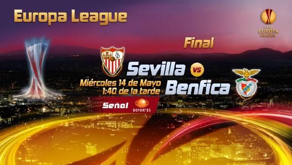 Sevilla vs Benfica en vivo, Final Europa League 2014 - sevilla-vs-benfica-en-vivo-final-televisa