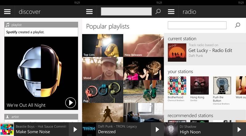 Spotify para Windows Phone con nuevas funcionalidades desde hoy - spotify-para-windows-phone