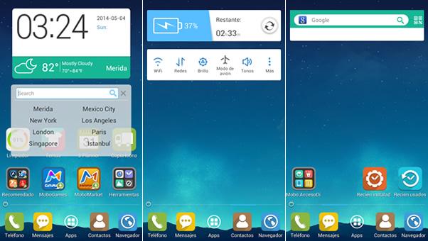 Mobolive, te permite personalizar tu android y aplicarle temas [Reseña] - widgets-mobolive