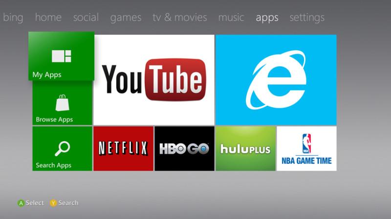 Netflix, YouTube y otras apps más de Xbox ya no requerirán cuenta Xbox Live Gold para ser usadas - xbox_live_media_apps-800x449