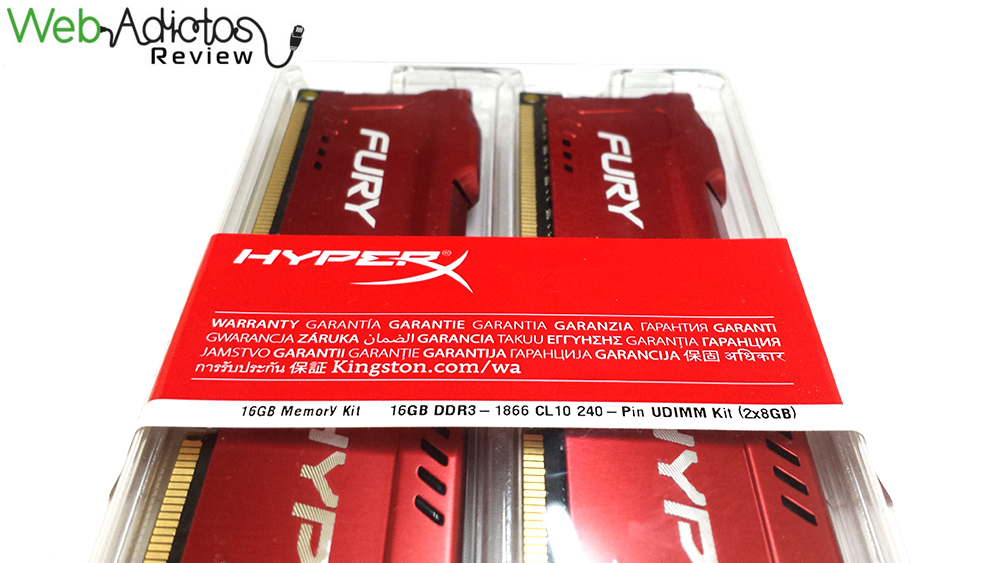 Kingston HyperX Fury 16GB 1866MHz [Reseña] - 36