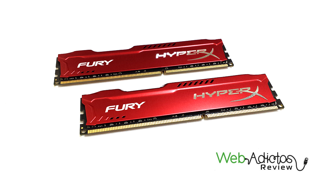 54 Kingston HyperX Fury 16GB 1866MHz [Reseña]