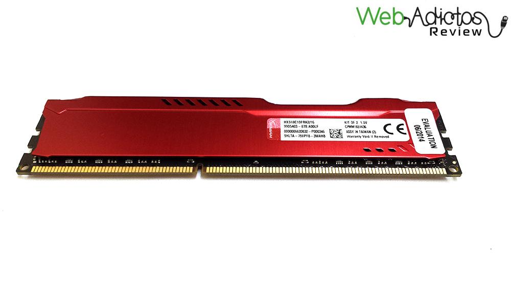 74 Kingston HyperX Fury 16GB 1866MHz [Reseña]