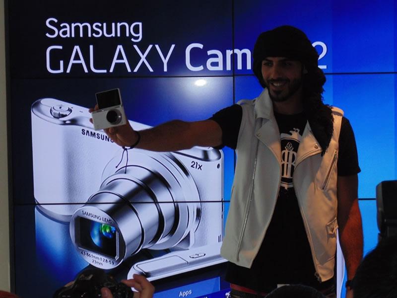 Samsung GALAXY Camera 2 y NX mini son lanzadas en México - Samsung-Camera-2-Omar-Borkan685