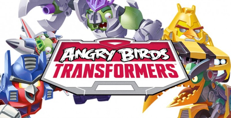 Angry Birds ahora llegan en forma de Transformers! - angry-birds-transformers-800x409