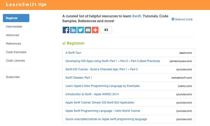 Recursos para aprender a programar en Swift el nuevo lenguaje de Apple - aprender-a-programar-en-swift-de-apple