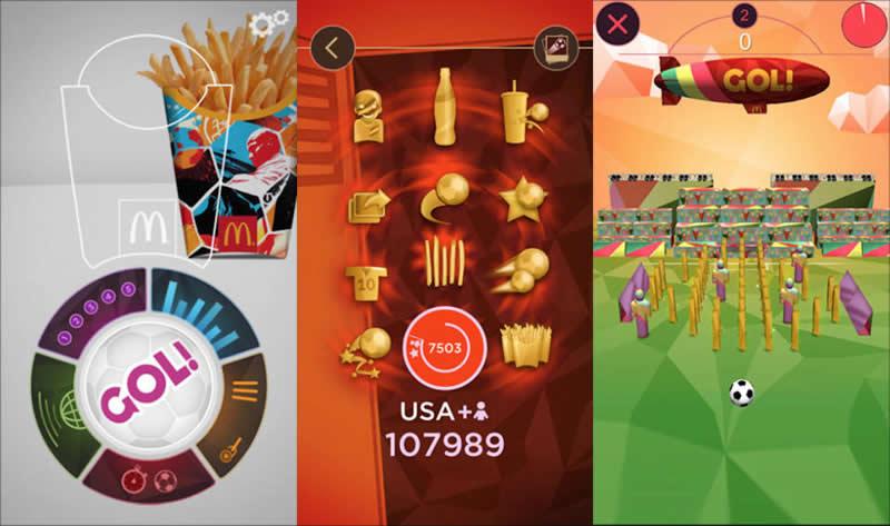 Gol!, la app de Mc Donalds para jugar futbol con realidad aumentada - gol-app-mc-donalds