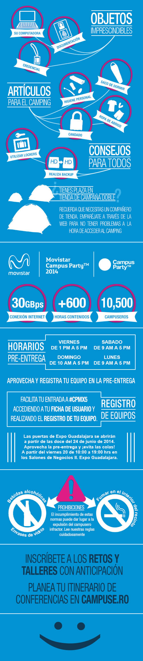 ¿Vas a Campus Party México 2014? Esto necesitas saber #CPMX5 - guia-campusera-campus-party-mexico-2014