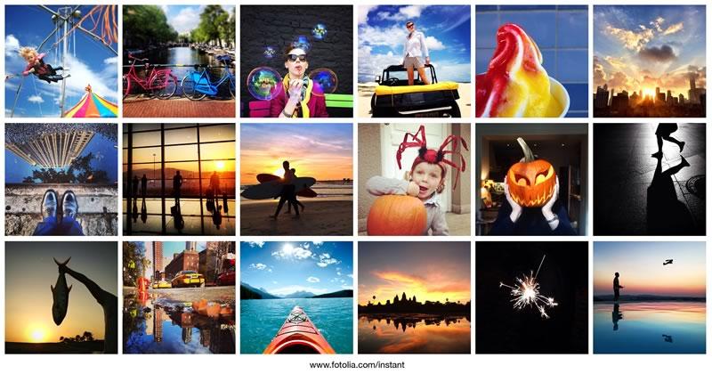 Vende las fotos que tomas con tu smartphone con Instant de Fotolia - instant-fotolia