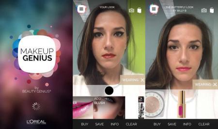 Makeup Genius la nueva app de L'Oréal Paris para probarte el maquillaje