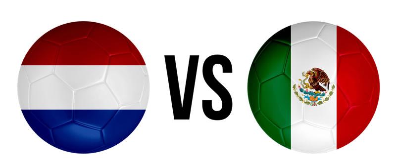 mexico vs holanda en vivo octavos de final Partido México vs Holanda en vivo por internet este 29 de Junio