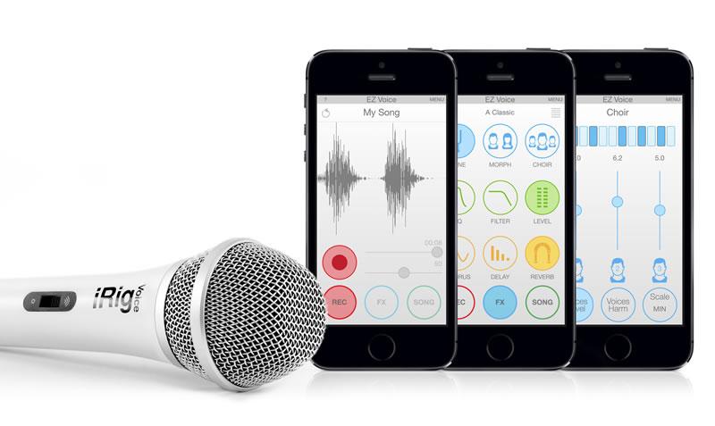 iRig Voice, un micrófono para iPhone o Android que te gustará - microfono-para-iphone-android-irig-voice