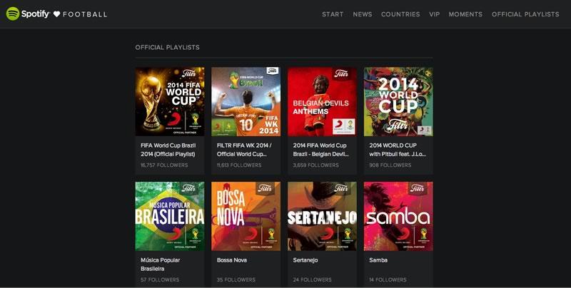 La música del Mundial Brasil 2014 y más en 'Spotify Loves Football' - musica-del-mundial-brasil-2014-spotify