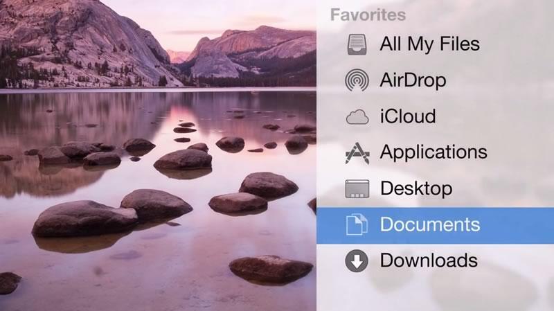 OS X Yosemite y su nueva interfaz mostradas en video - os-x-yosemite-video