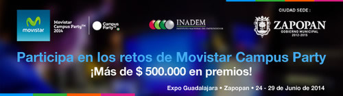 Participa en los retos Campus Party México #CPMX5 - retos-campus-party-cpmx5