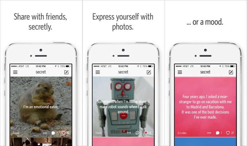 Secret, la app que te permite enterarte de los secretos de los demás - secret-app-compartir-secretos