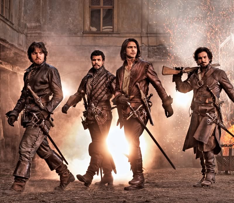 The Musketeers de la BBC llega a Netflix - the-Musketeers