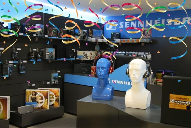Sennheiser inaugura su segunda tienda en México - tienda-sennheiser-mexico