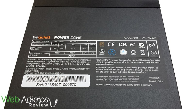 Be Quiet! Power Zone 750W [Reseña] - 103