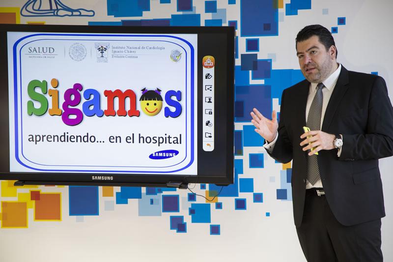 """Samsung inaugura la primera Smart School Solution en el Instituto Nacional de Cardiología """"Ignacio Chávez"""" - Inauguracion-Samsung-Smart-School-Solution"""
