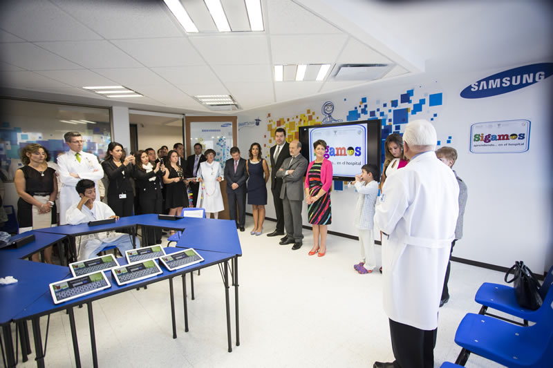 "Samsung inaugura la primera Smart School Solution en el Instituto Nacional de Cardiología ""Ignacio Chávez"" - Samsung-Smart-School-Solution"