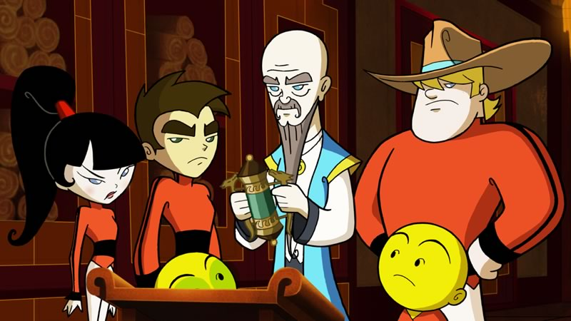 Xiaolin Chronicles, nuevo show de Cartoon Network - Xiaolin-Chronicles-2