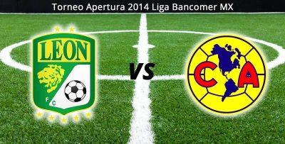 América vs León en vivo, Jornada 1 del Apertura 2014