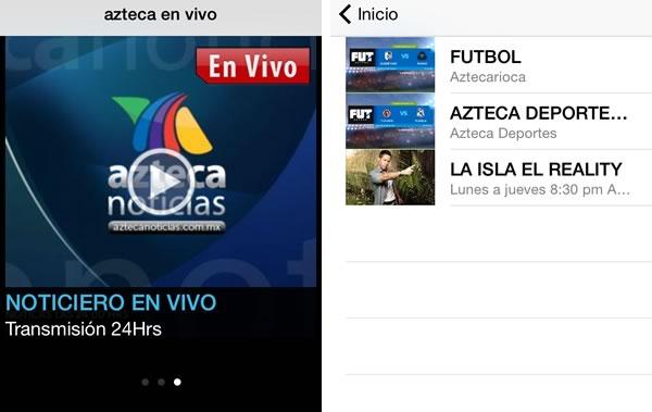 5 apps para seguir el torneo apertura 2014 de la liga MX - app-tv-azteca-en-vivo