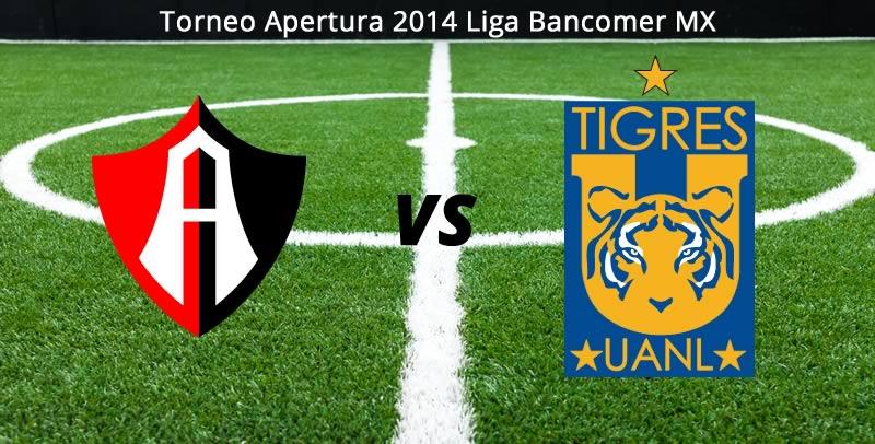 Atlas vs Tigres en vivo, Jornada 1 del Apertura 2014 - atlas-vs-tigres-en-vivo-apertura-2014