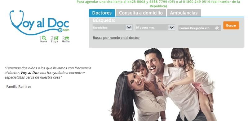 Encuentra doctores en México y haz tu cita online en VoyAlDoc - doctores-en-mexico-voyaldoc