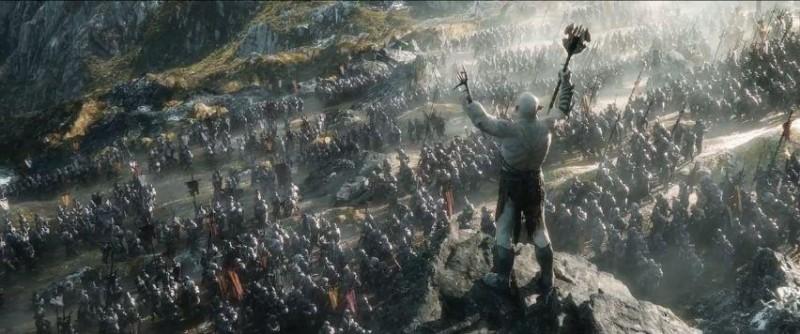 el hobbit la batalla de los cinco ejercitos 800x334 Increíble primer tráiler de El Hobbit: La Batalla de los Cinco Ejércitos