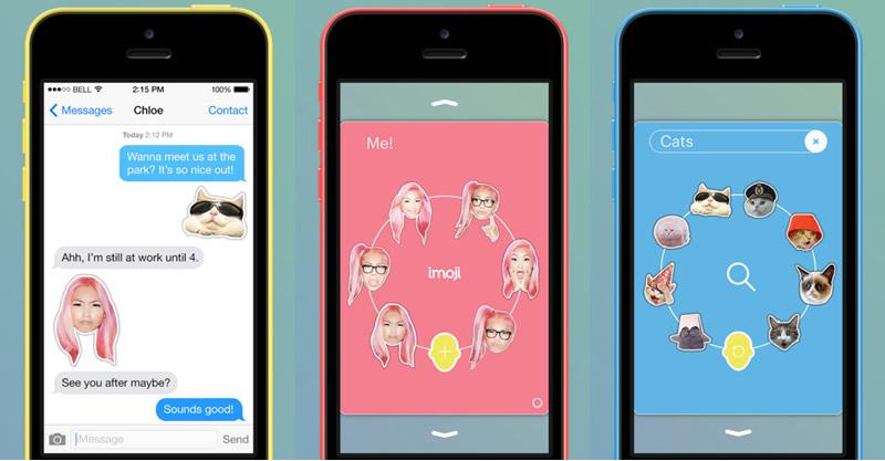 Imoji, crea emoticons para tus mensajes de iMessage en iOS - emoticons-para-imessage-ios