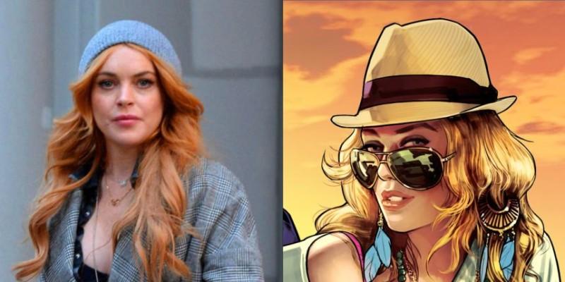 Lindsay Lohan demanda a los creadores de Grand Theft Auto por usar su imagen - lindsay-lohan-800x400