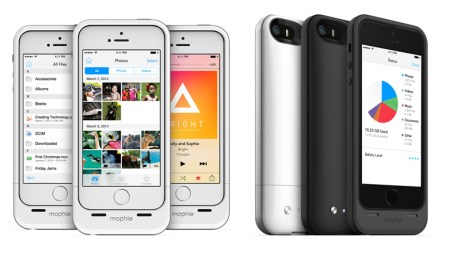 Mophie space pack, funda para iPhone que agrega 16 o 32 GB de almacenamiento