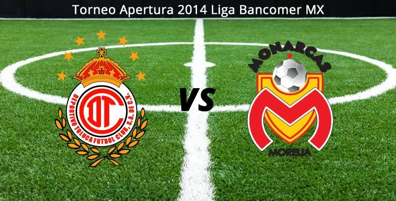 Toluca vs Morelia en vivo, Jornada 1 del Apertura 2014 en la Liga MX - toluca-vs-morelia-en-vivo-apertura-2014
