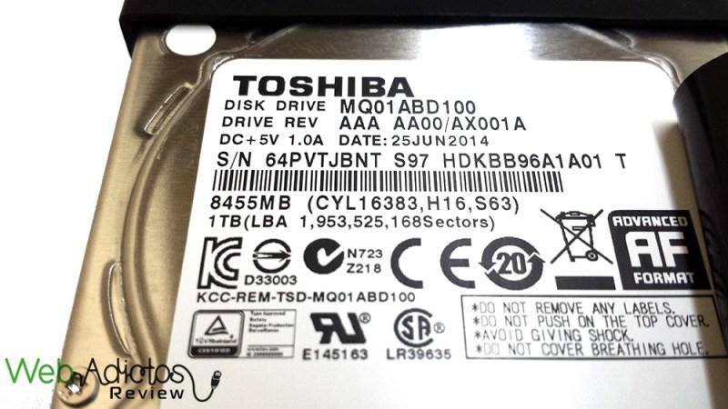 Disco Externo Silicon Power Armor A80 1TB [Reseña] - 132