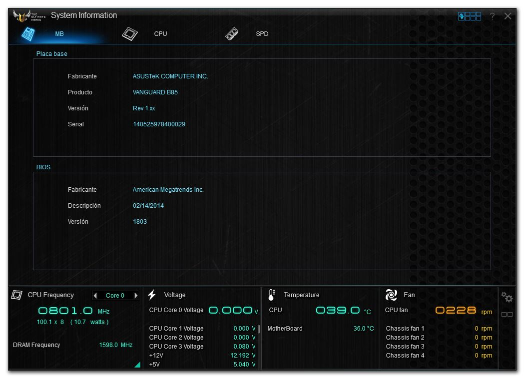 Motherboard ASUS Vanguard B85 [Reseña] - 202