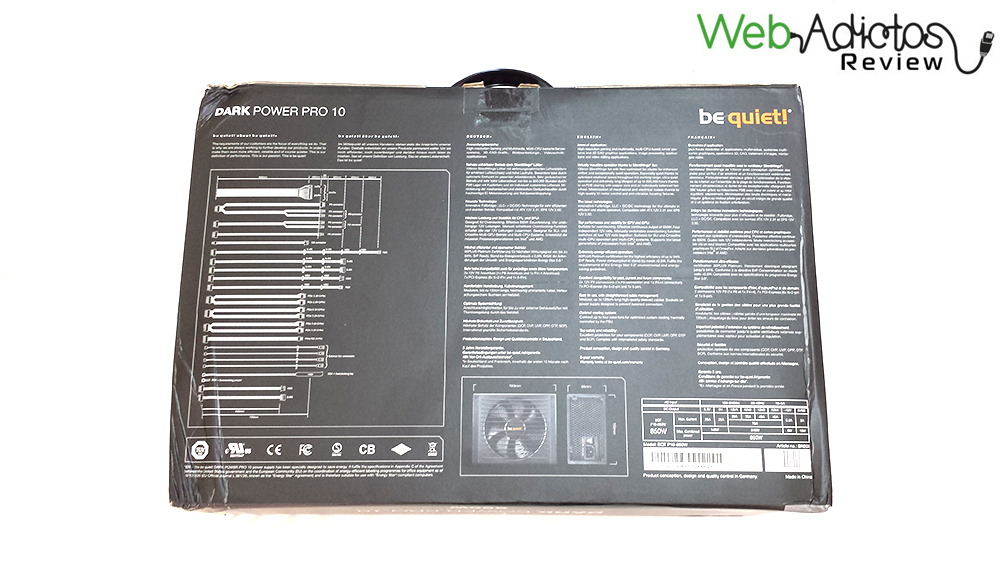 Be Quiet! Dark Power Pro 10 850W [Reseña] - 32