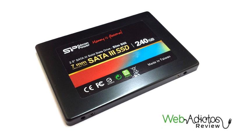 Silicon Power Slim S55 240GB [Reseña] - 67